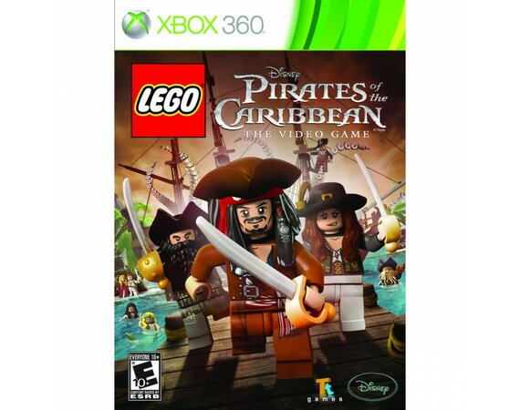 CD Projekt LEGO Pirates of the Caribbean XBOX 360