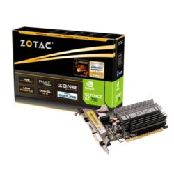 ZOTAC Karta graficzna GeForce GT 730 Zone Edition 2GB 64bit DDR3 DVI/HDMI/VGA