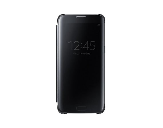 Samsung Clear View Cover Galaxy S7 Edge Black