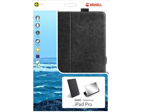 Krusell Etui Apple iPad PRO EKERO Tablet Etui Czarne