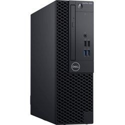 Dell Komputer Optiplex 3080 SFF/Core i3-10100/8GB/256GB SSD/Integrated/DVD RW/No Wifi/Kb/Mouse/W10Pro