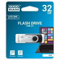 GOODRAM UTS2 BLACK 32GB USB2.0