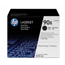 HP Inc. Toner 90X Black 24k CE390XD Dual Pack