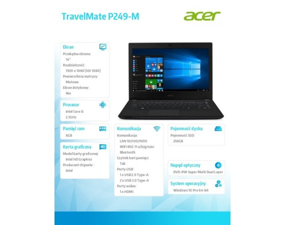 Acer TravelMate P249-M   NX.VD4EP.010