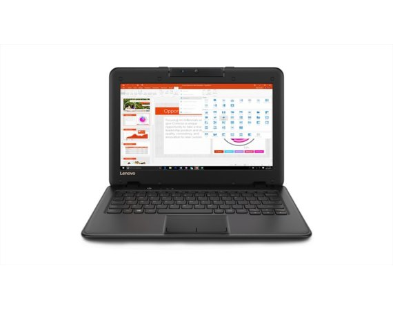 Lenovo Laptop dla szkoły ThinkPad 100e 81CY002LPB W10Pro N3350/4GB/64GB/INTEFRATED/11.6 HD/Black/1YR CI