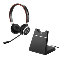 Jabra Evolve 65 MS Stereo + charging stand