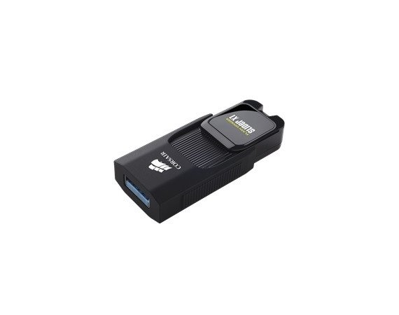 Corsair VOYAGER Slider X1 128GB USB3.0 Capless Design, Read 130MBs,     Plug and Play