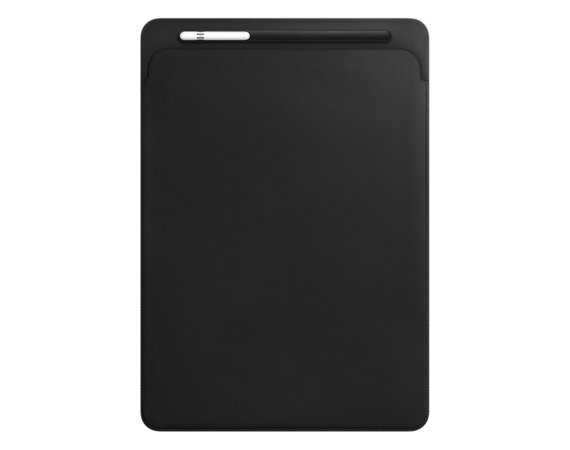 Apple iPad Pro 12.9 Leather Sleeve - Black