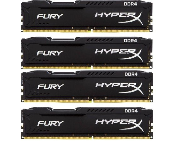 HyperX DDR4 Fury Black 32GB/2666 (4*8GB) CL16