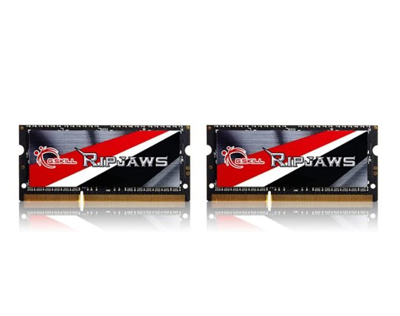 G.SKILL SODIMM Ultrabook DDR3 16GB (2x8GB) Ripjaws 1600MHz CL9 - 1.35V Low Voltage