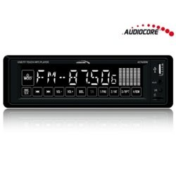 Audiocore Radioodtwarzacz dotykowy Audiocore AC9600W MP3/WMA/USB/SD RDS/Bluetooth handsfree + pilot