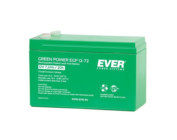EVER Akumulator 12V 7Ah GREEN POWER T/AK-12007/1105