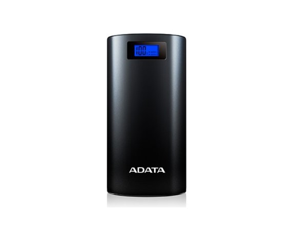 Adata Power Bank AP20000D 20000mAh Czarny 2.1A