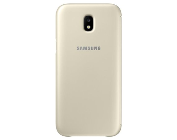 Samsung Wallet Cover Gold  do J5 (2017)