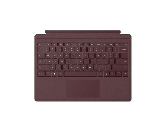 Microsoft Klawiatura Surface Pro Signature Type Cover Burgundy Commercial