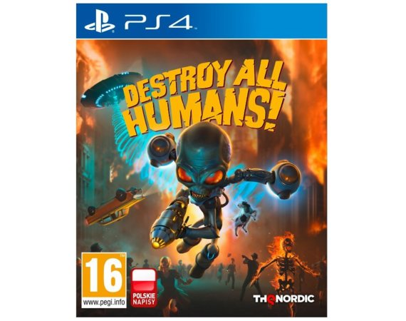 KOCH Gra PS4 Destroy All Humans!  DNA Collectors