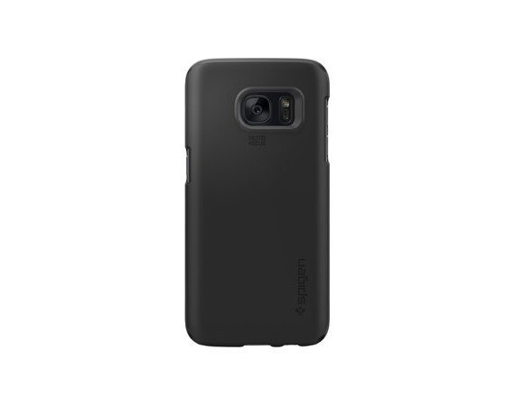 SPIGEN SGP  Case Thin Fit Czarny Galaxy S7