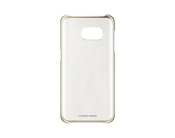 Samsung Clear Cover Galaxy S7 Gold