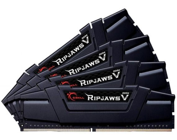 G.SKILL Pamięć do PC - DDR4 64GB (4x16GB) RipjawsV 3600MHz CL18 XMP2