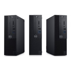 Dell Komputer Optiplex 3070 SFF W10Pro i3-9100/4GB/1TB/Intel UHD 630/DVD RW/KB216 & MS116/3Y BWOS