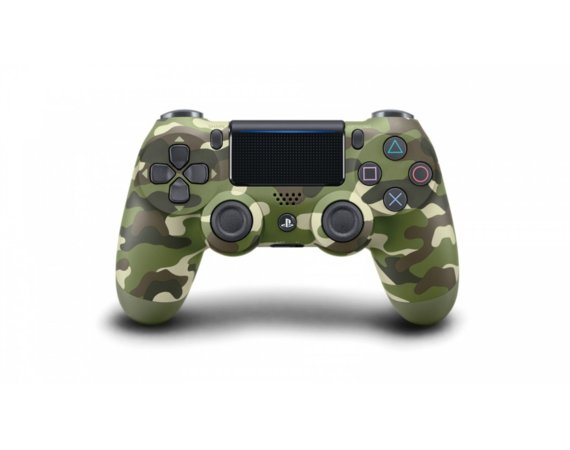 Sony PS4 Dualshock Cont Green Camo v2