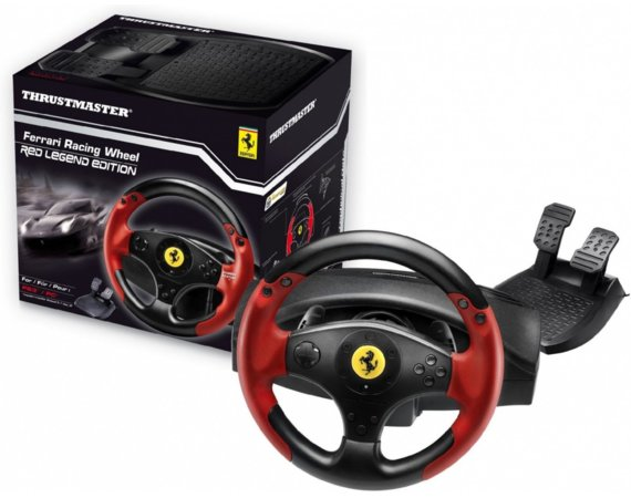 Thrustmaster Kierownica  Red Legend (PC, PS3)