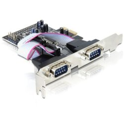 Delock Karta PCI-Express->4xCOM(9Pin)