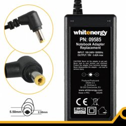 Whitenergy Zasilacz AC 230V 19V 3.42A 5,5*2,5mm