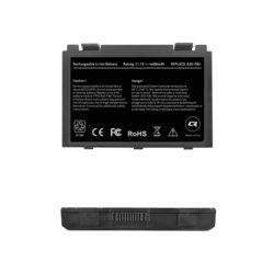 Qoltec Bateria do laptopa Asus F82 F83S, 4400mAh, 10.8-11.1V