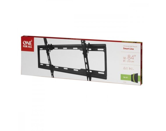"One For All Uchwyt TV 32-84"" udźwig 80kg VESA od 100x100 do 600x400"