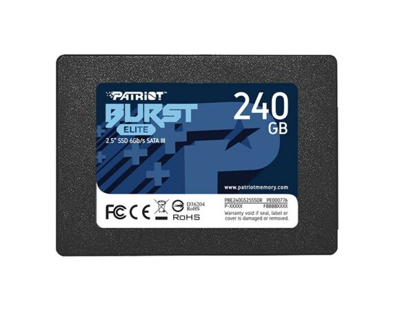 Patriot SSD 240GB Burst Elite 450/320MB/s SATA III 2.5