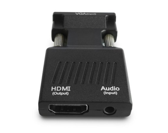 Elmak Konwerter/Adapter VGA do HDMI AUDIO Full HD/1080p 60Hz SAVIO CL-145