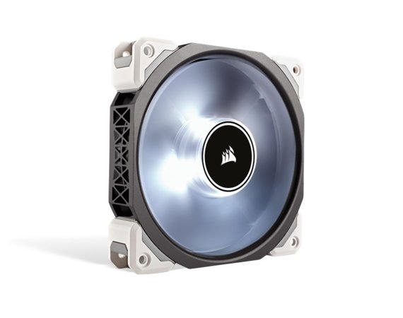 Corsair Air Series ML120 PRO LED White 120mm                     Premium Magnetic Levitation Fan