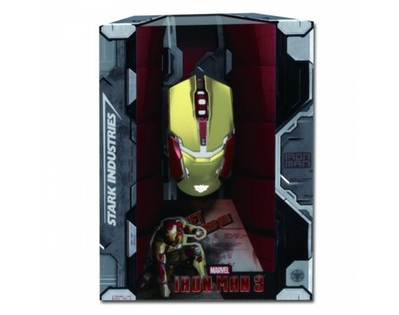 E-Blue Mysz USB Iron Man Armor 4000DPI 46362