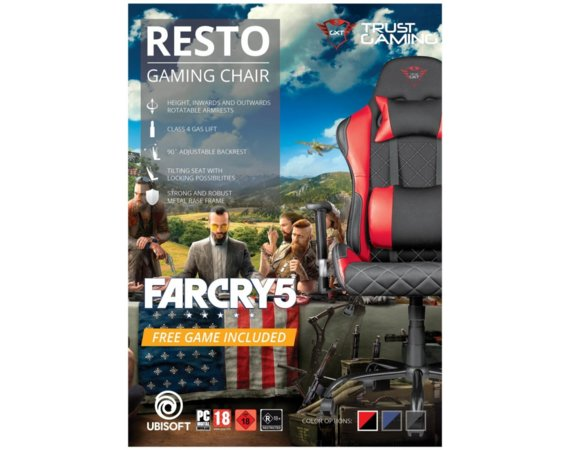 Trust Fotel RESTO + Far cry 5 voucher