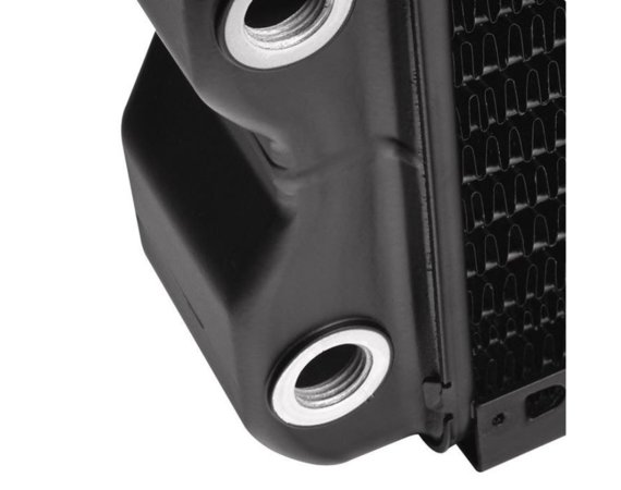"Thermaltake Pacific RL360 (360mm, 5x G 1/4"", aluminium) radiator - Black"
