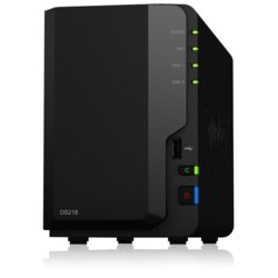 Synology DS218 2x0HDD 2GB 4x1.4Ghz 1xGbE 3xUSB H265 VC-1