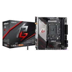 ASRock Płyta główna X570 Phantom Gaming ITX/TB3 AM4 4DDR4 HDMI/DP mini ITX