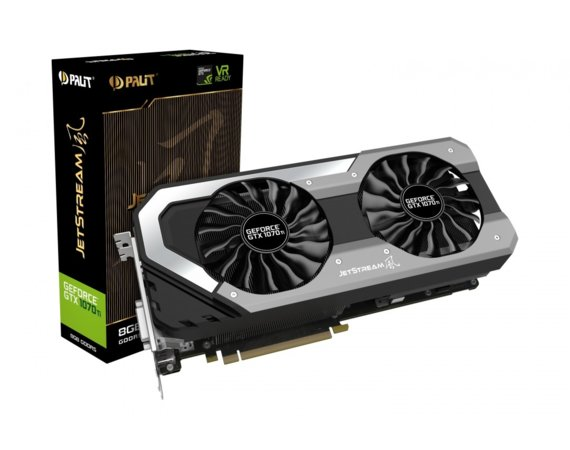 Palit GeForce GTX 1070 Ti Jetstream 8GB GDDR5 256BIT DVI-D/3DP/HDMI