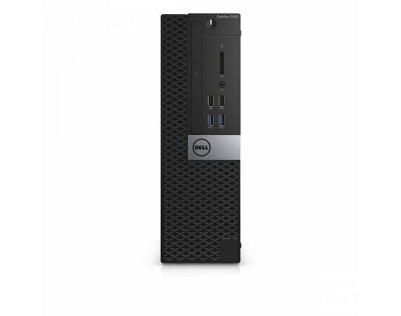 Dell Optiplex 3040SFF Win7/10Pro (64-bit win10, nosnik) G4400/500GB/4GB/Integrated/MS116/KB216/3Y NBD