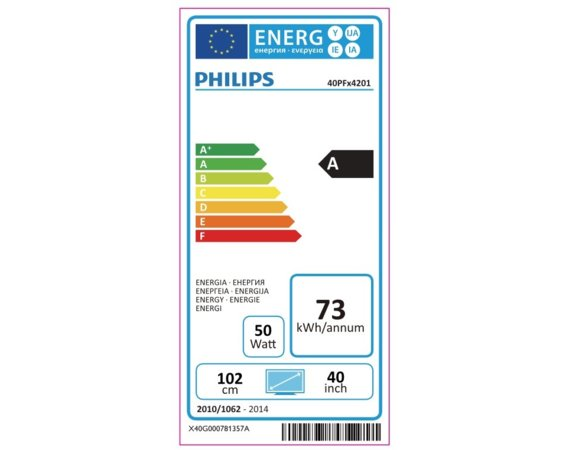 Philips 40'' LED 40PFH4201/88