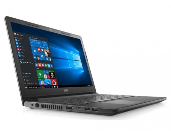 "Dell VOSTRO 3568 Win10Pro i3-7130U/1TB/4GB/DVDRW/Intel HD/15.6""HD/4-cell/3Y NBD"