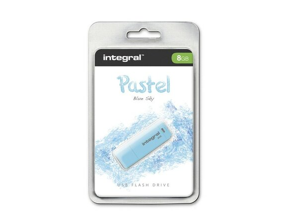 Integral PENDRIVE PASTEL BLUE SKY 8GB USB 2.0