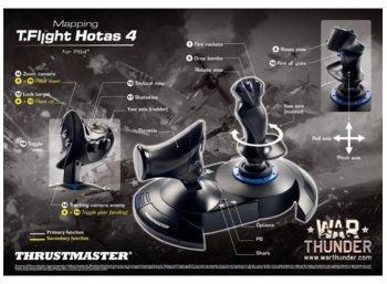 Thrustmaster Joystick Thrustmaster T-Flight HOTAS 4 Official DO PC/PS4