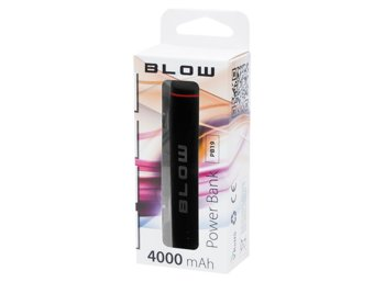 BLOW Power Bank 4000mAh 1xUSB PB19 czarny