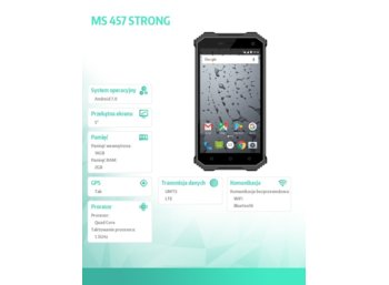 Maxcom MS 457 STRONG GSM/LTE/IP68 5 CALI