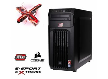OPTIMUS E-Sport MH110T-CR26 i5-7400/8GB/2TB/GTX1050Ti GAMING X 4GB BLUE LED