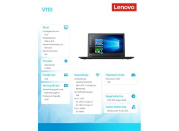 Lenovo V110-15IKB 80TH003CPB