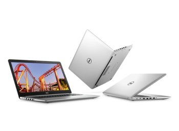 "Dell Inspiron 5379 Win10Home i7-8550/512GB/16GB/Intel HD/13.3""FHD/Silver/42WHR/1Y NBD+1Y CAR"