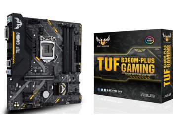 Asus *TUF B360M-PLUS GAMING 4DDR4 DVI/HDMI/M.2 uATX